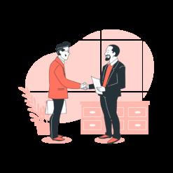 Bank loan vector illustration